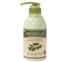 Well-Being Deoproce Fresh Moisturizing Olive Body Lotion Olive 500ml