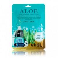 Ekel Aloe Ultra Hydrating Essence Mask 10 ea Увлажняющая успокаивающая тканевая маска с экстрактом алоэ