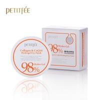 Petitfee Collagen & Q10 Hydro Gel Essence Eye 60 & Spot Patch 30 Анти возрастные патчи под глаза