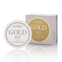 Petitfee Gold EGF Eye Patch 60ea - патчи под глаза с лифтинг эффектом