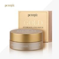Petitfee Gold Hydrogel Eye Patch 60ea - гидрогелевые патчи под глаза с экстрактом золота